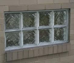 glass block for windows glass block window basement window glass block window installation