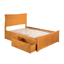 Beds with drawers Upholstered Atlantic Furniture Metro Caramel Full Platform Bed With Matching Foot Board With 2urban Bed Drawersar9036117 The Home Depot Home Depot Atlantic Furniture Metro Caramel Full Platform Bed With Matching