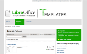 Libreoffice Resume Template Project Scope Template