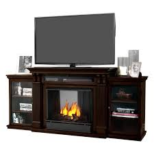calie 67 tv stand with gel fireplace