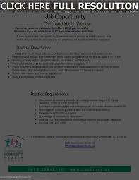 Collection Of Solutions Example Of A Cover Letter For Youth Worker