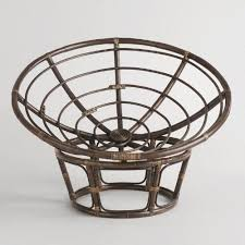 One of my favorite discoveries at WorldMarket.com: Espresso Papasan Chair  Frame