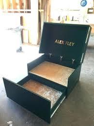 nike shoe box storage wood giant inspired oversized regarding boxes for decorations wooden nike shoe box storage