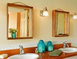wonderful bathroom mirrors wood frame 74 about remodel interior decor ideas for home design with bathroom