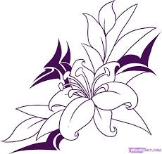 Small Picture 61 best Draw flowers images on Pinterest Draw flowers Flowers