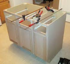 diy kitchen island from stock cabinets DIY Home Pinterest Diy