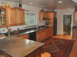 Red Birch Cabinets Kitchen Genuine 1865 Vermont With Luxury Updates Homeaway Rawsonville