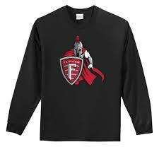 Fairview Park Warrior Long Sleeve T Shirt