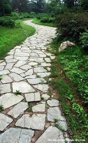 Small Picture Inexpensive Walkways and Paths Natural Flagstone Garden Path