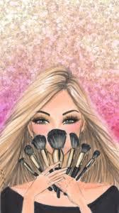 Wallpaper Tumblr Girl Makeup