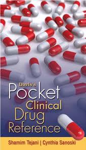 Daviss Pocket Clinical Drug Reference