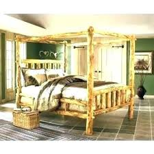 Log Beds Queen Size King Size Log Bed Frame Full Size Log Bed Queen ...
