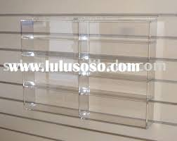 display wall shelves clear acrylic wall shelves extraordinary mounted display shelf book stand home interior wall display units uk