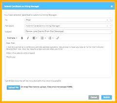 Sending Resume Email Mesmerizing Email For Sending Resume And Cover Letter Job Offer Template