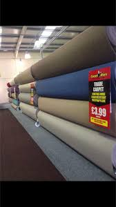 8 roll island carpet stands 4m