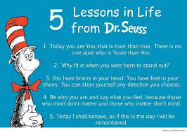 Funny Quotes About Life Lessons Enchanting 48 Lessons In Life From Dr Seuss