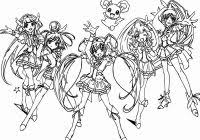 Glitter Force Coloring Pages Printable Coloring Pages 2019