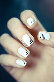 Top 10 Super Easy Minimalist Nail Art Ideas - Top Inspired