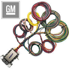 20 circuit gm restoration wiring harness streetrodelectrics com