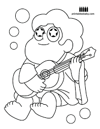Fresh Steven Universe Coloring Pages Or Universe Coloring Pages