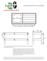 green egg table plans large build a big green egg table nest 100 bucks my new green egg you know the big green egg cookbook i have been planning on making a