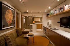 Interior Small Basement Apartment Ideas With Cool Ceili Together .