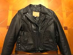 walter dyer is leather las winter fall black motorcycle jacket made in usa 12