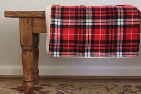 sherpa flannel lap blanket tutorial