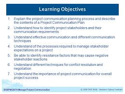 bsbpmga manage project communication manage project  3 bsbpmg507a