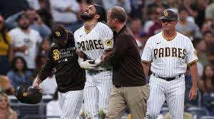San Diego Padres' Fernando Tatis exits ...