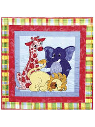 Quick & Easy Baby & Kids Quilts - Jungle Babies Quilt Pattern & Jungle Babies Quilt Pattern Adamdwight.com
