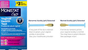 MONISTAT® Vaginal Health Test | Yeast Infection Test Kit