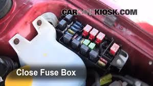 replace a fuse 1995 1999 subaru legacy 1997 subaru legacy l 2 2 6 replace cover secure the cover and test component