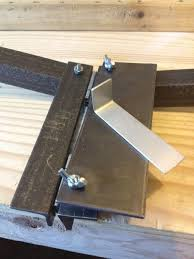 sheet metal bender tool. introduction: inexpensive soft metal bending tool sheet bender