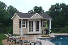 Swimming Pool House Designs   Pool House Cabana IdeasThe Classic Expressions Poolhouse Ideas