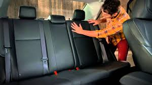 Corolla How To 60 40 Spit Rear Seat 2014 Toyota Corolla - YouTube