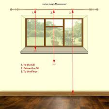 curtain lengths how to measure for curtains step by guide standard curtain lengths uk