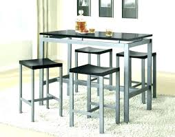 full size of glass top counter height table and chairs sets set high dining daisy round