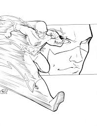 Flash C2e2 Sketch By Adamwithers On Deviantart Flash Sketches
