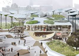 Lehrer architects office design Spaces Fab Civic Center Proposal In Los Angeles Usa By Mia Lehrer Oma And Ideo La Forum For Architecture And Urban Design Oma Unveils