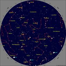 July 2018 Star Chart Calgary Star Chart For July