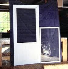 wood storm door with glass custom wood storm screen combination insert door 6 panel glass wood