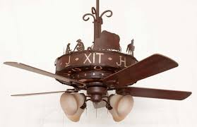 copper canyon western trails ceiling fan rustic lighting and fans