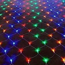Battery Net Lights 160 240 Fit Forget Battery Operated Multi Coloured Multi Function Led Net Lights