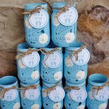 Decorating Mason Jars For Baby Shower Mason Jar Centerpieces Baby Shower Centerpieces Blue and 46