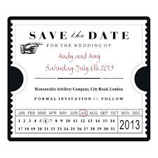 wedding invitation ticket template save the date ticket template fake concert ticket generator template