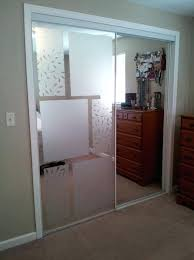 Mirrored Closet Doors Makeover How To Cover Mirror Regarding