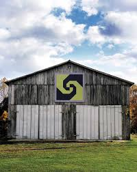 Barn Quilts in Rural America | Barn quilts, Barn and Snail & A Snail's Trail barn quilt, owned by Donna Sue Groves, Manchester, Ohio, Adamdwight.com