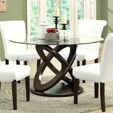 monarch dining table monarch specialties i dark espresso inch tempered glass dining table i monarch specialties