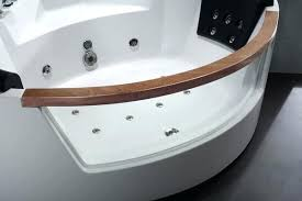 whirlpool corner bathtub whirlpool tub 5 rounded clear modern corner whirlpool bath tub with fixtures ariel whirlpool corner bathtub